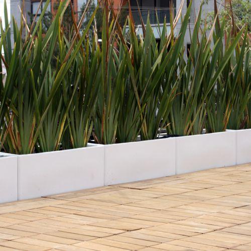 Jardineras rectas macetas de fibra de vidrio meue - Plantas de exterior baratas ...