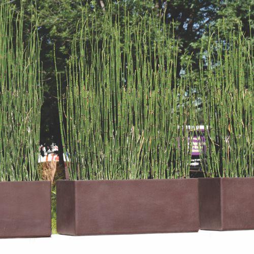 Jardineras rectas macetas de fibra de vidrio meue - Jardineras de colores ...