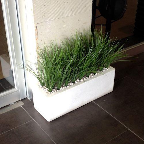 Jardineras rectas macetas de fibra de vidrio meue - Leroy merlin jardin piedras calais ...