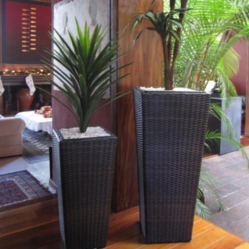 Malasia macetas de tejido meue - Macetas minimalistas ...