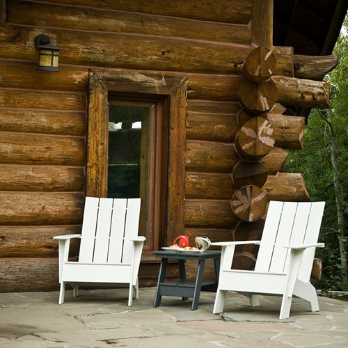 Adirondack muebles de jardin meue - Muebles plastico jardin ...