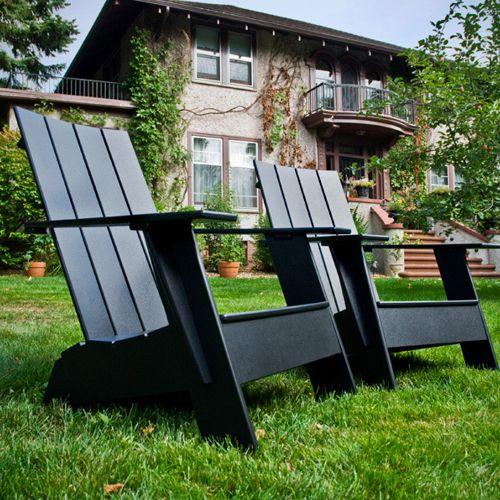 Adirondack muebles de jardin meue for Sillones de plastico para jardin baratos