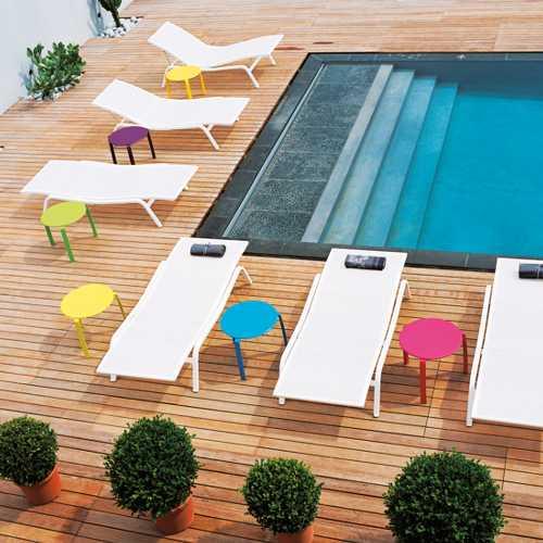 Alize muebles de jardin meue for Camastros de hierro para jardin