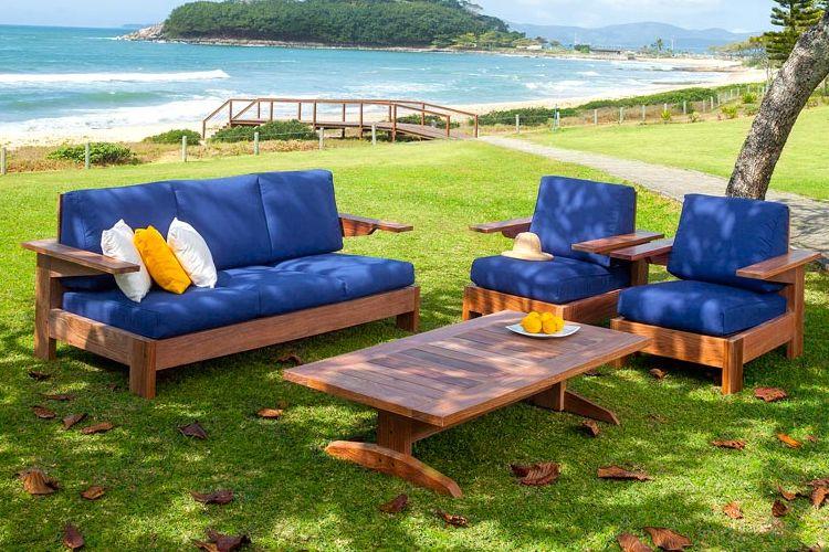 Muebles de jardin de madera meue for Muebles de madera y jardin
