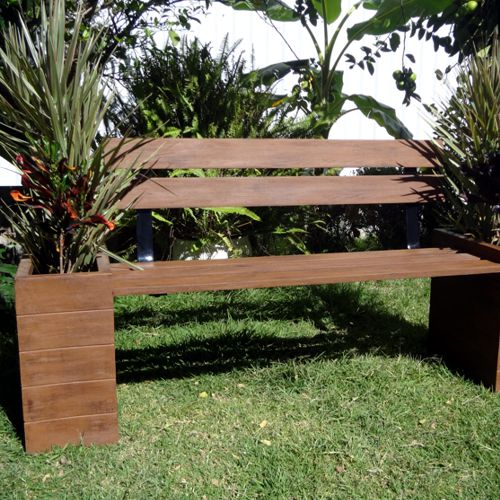 Bancas de fibra de vidrio - Muebles de jardin - MEUE