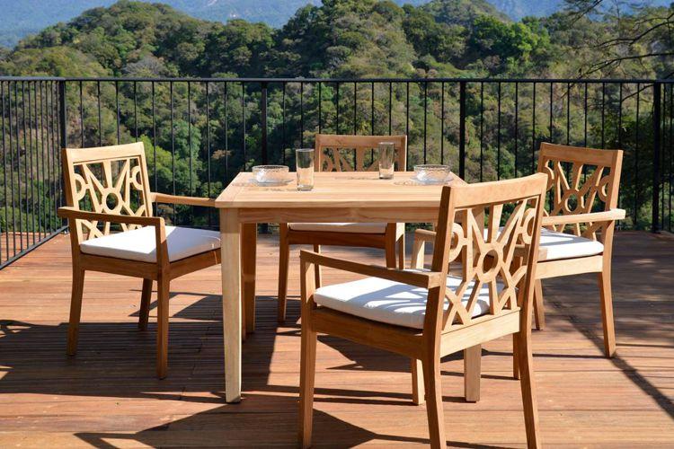 Muebles de jardin de madera meue for Muebles avelino