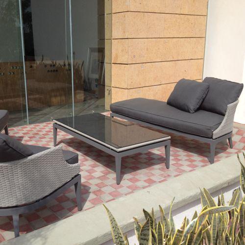Cojines para muebles de jardin simple confeccin de - Muebles jardin malaga ...
