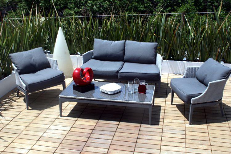 Muebles de Jardin de Aluminio - MEUE