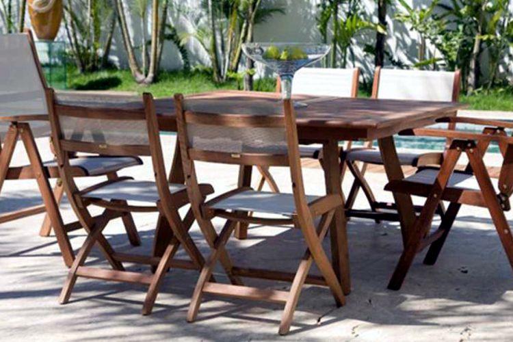 Muebles de Jardin de Madera - MEUE