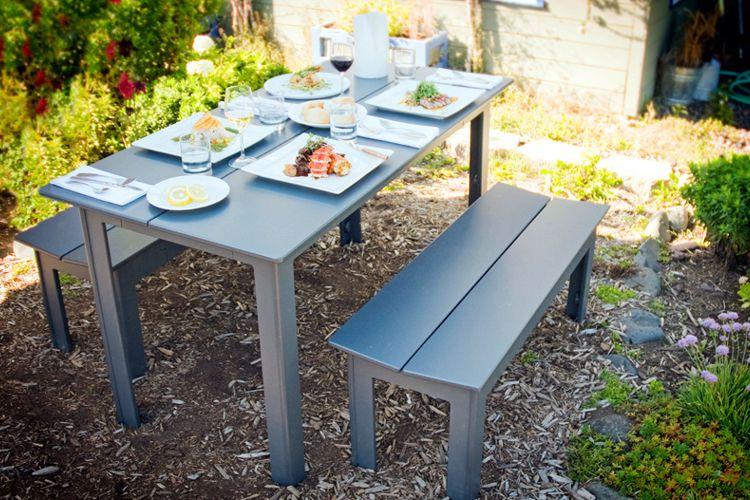 Mesas de plastico para jardin un comedor muy duradero for Mesa plastico jardin