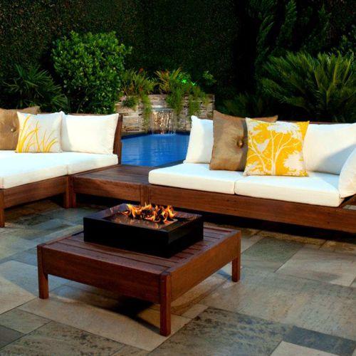 Grass muebles de jardin meue for Muebles terraza madera