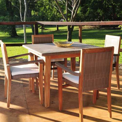 Grosetto muebles de jardin meue - Muebles exterior madera ...