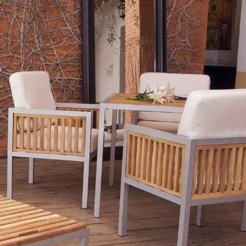Ibiza aluminio muebles de jardin meue for Muebles de aluminio para jardin