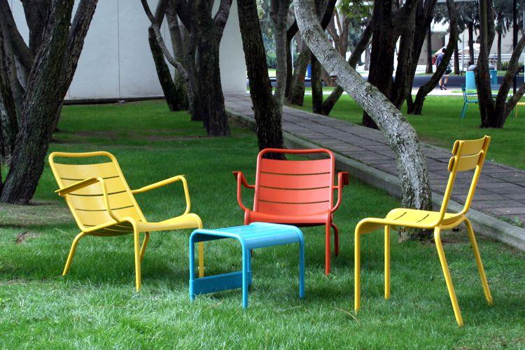 Muebles de jardin de aluminio meue for Muebles jardin aluminio
