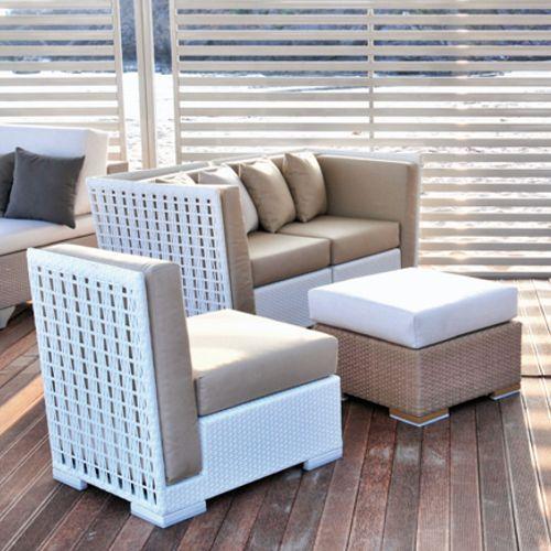 Meleta muebles de jardin meue for Muebles de exterior de rattan