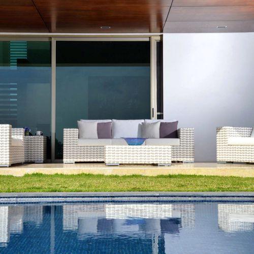 Nemo muebles de jardin meue for Espejos rectangulares plateados
