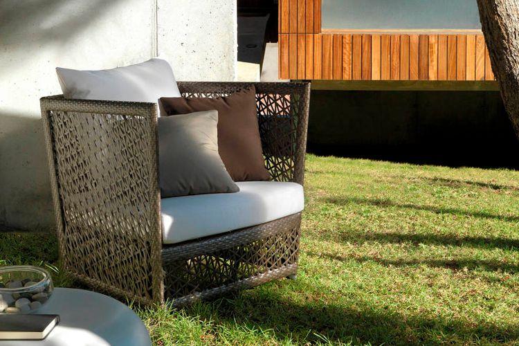 Muebles de jardin de tejido meue - Muebles fibra sintetica ...