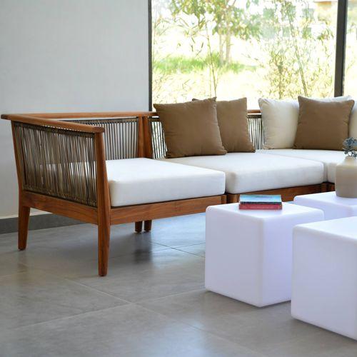 Velletri muebles de jardin meue - Muebles de madera teca ...