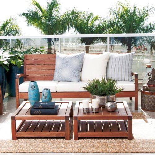 Vila rica muebles de jardin meue for Muebles de madera para patio