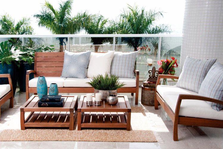 Muebles de jardin de madera meue for Muebles de madera para patio