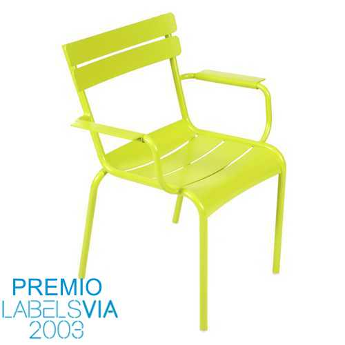 FE-4102 LUXEMBOURG  Silla Comedor apilable c/brazos