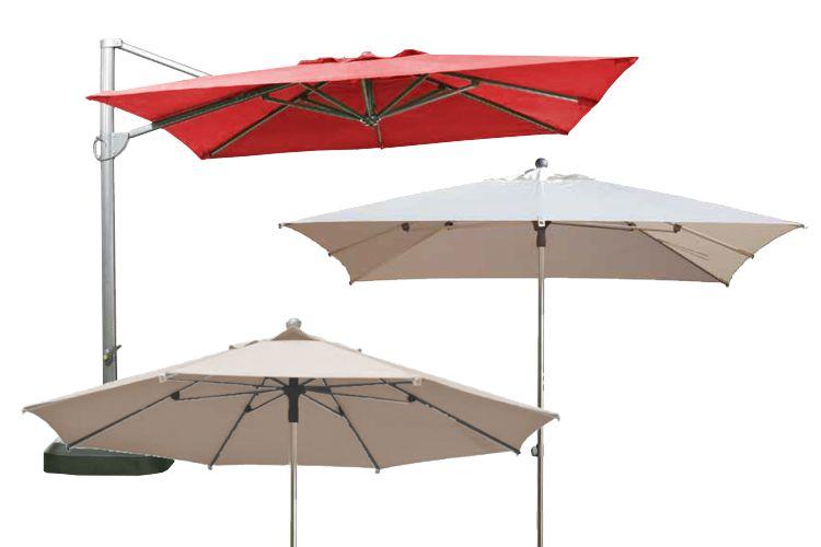 Sombrilla rectangular parasoles sombrillas parasoles de - Sombrilla de pared ...