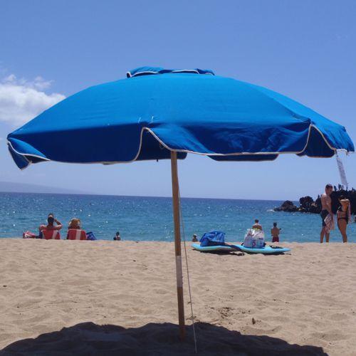 Treasure sombrillas de fibra de vidrio meue - Sombrilla playa ...